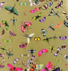 CHRISTIAN LACROIX FOR DESIGNERS GUILD - mariposa or - Carta Da Parati