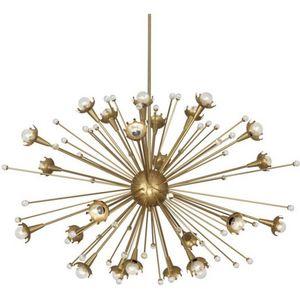 ALAN MIZRAHI LIGHTING - qz6610 sputnik 24 light - Candelabro