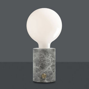 EDGAR - opaque - Lampada Da Appoggio A Led