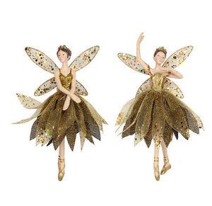 Amara - £22 gold ballerina - Decorazione Per Albero Di Natale