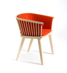 COLE - secreto little armchair upholstered - Poltrona