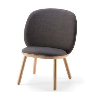 EMKO - naive low chair - fauteuil tissu kvadrat - Poltrona