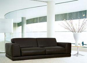 Canapé Show - canap? 3 pl. grand luxe. cuir 2.5 mm - Divano 3 Posti
