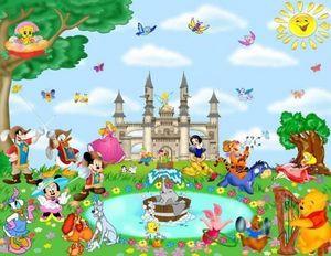 ITALCASADECOR - photomurales adesiva - Carta Da Parati Bambino