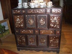 ANTIQUITES THUILLIER - meuble asiatique xixe - Cassettiera