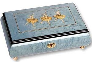 Ayousbox - boîte à musique kouplena - avec compartiments à bi - Carillon