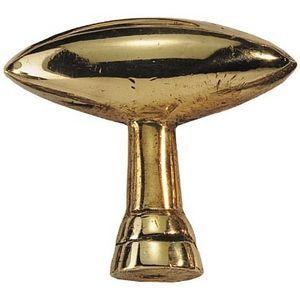 FERRURES ET PATINES - bouton / poignee olive en bronze style louis phili - Pulsante Porta