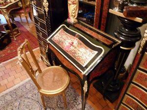 Art & Antiques - bureau de pente boulle - Scrittoio Bureau De Pente