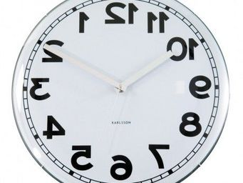Karlsson Clocks - karlsson - horloge dome backwards - karlsson - - Orologio Da Cucina
