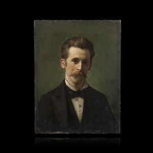Expertissim - vlacho bukovac. portrait d?homme - Ritratto