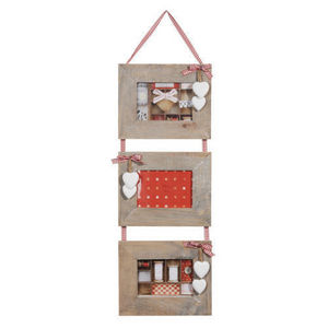 Maisons du monde - cadre triple lily - Cornice