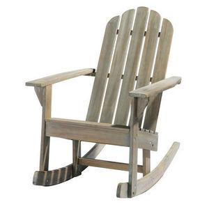 Maisons du monde - fauteuil bascule ontario - Sedia A Dondolo