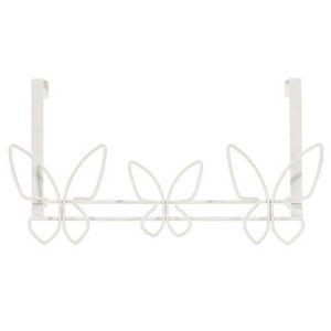 MAISONS DU MONDE - patère papillons blanche - Appendiabiti Bambino