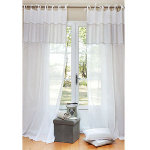 Maisons du monde - rideau coton d'autrefois - Tende A Laccetti