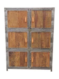 Sweet Mango - armoire bois métal - Credenza Bassa