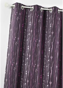 HOMEMAISON.COM - rideau ameublement en jacquard imprimé racines - Tende A Occhielli