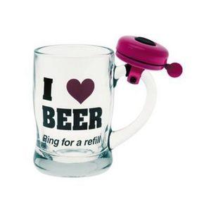 Present Time - verre àbière i love beer - Tazza