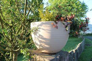 POTERIE GOICOECHEA -  - Vaso A Coppa Da Giardino