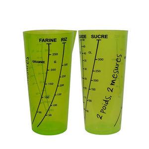 WHITE LABEL - verre doseur 0.5 litres - Bicchiere Graduato