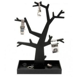 Present Time - arbre àbijoux noir ou argenté - Portagioie