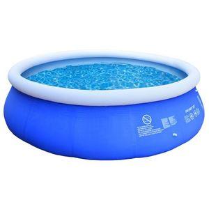 WHITE LABEL - piscine pataugeoire 2074 litres - Piscina Gonfiabile
