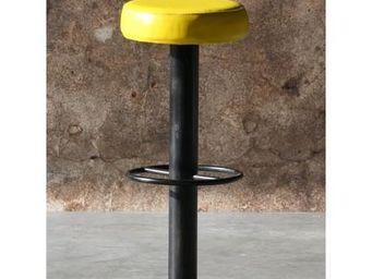Mathi Design - tabouret de bar steel - Sgabello Da Bar