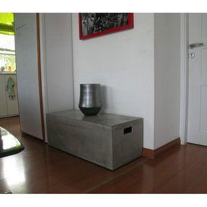 Mathi Design - banc béton massif 100 - Panca