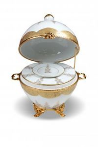 Porcelaine Carpenet -  - Uovo Decorativo