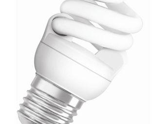 Osram - ampoule fluo compacte spirale e27 2500k 7w = 40w | - Lampada Fluorescente Compatta