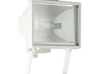 Brilliant - tanko - applique extérieure blanc h25cm | luminair - Proiettore Da Esterno