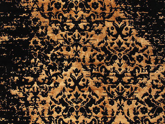 EDITION BOUGAINVILLE - taj mahal black gold - Tappeto Moderno
