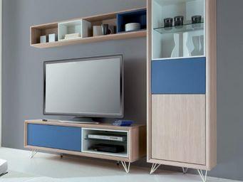 Ateliers De Langres - colonne tentation - Mobile Tv & Hifi