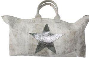 SHOW-ROOM - leather star, silver - Borsa Da Viaggio