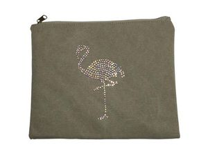 BYROOM - flamingo, rhinestone - Astuccio Per Ipad