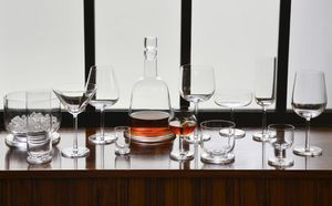 GUILLAUME DELVIGNE - horizon / cristal de sèvres - Caraffa Da Whisky