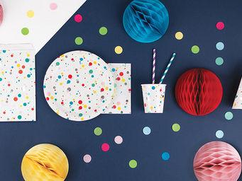 MY LITTLE DAY - bulles multicolores - Stoviglia Monouso