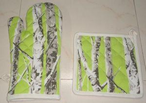ITI  - Indian Textile Innovation - bamboo trees - Guanto Da Forno