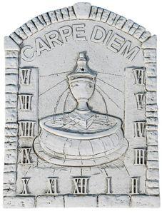 DECO GRANIT - cadran solaire la fontaine en pierre reconstituée - Meridiana