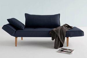 WHITE LABEL - innovation living canape lit design zeal bow nist  - Divano Letto Clic Clac (apertura A Libro)