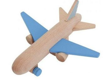 KUKKIA - hikoki jet -- - Giocattolo In Legno