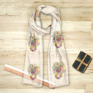 la Magie dans l'Image - foulard un bouquet - Foulard Quadrato