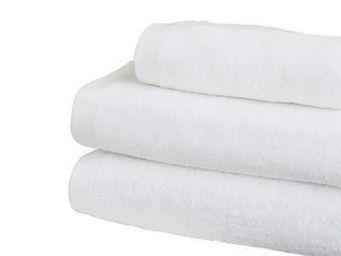 Liou - drap de bain blanc - Asciugamano Grande