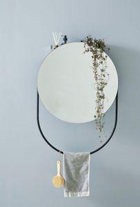 WOUD - verde - Specchio Bagno