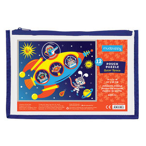 BERTOY - pouch puzzle outer space - Puzzle Per Bambini
