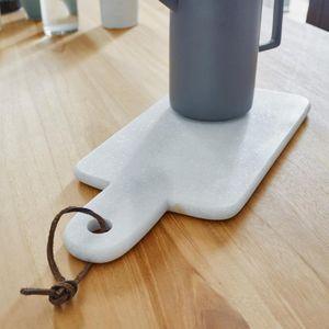 BOIS DESSUS BOIS DESSOUS - planche à découper en marbre - Tagliere