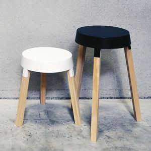 Deneufbourg Benoît Design Studio - bxl tables - Tavolino Di Servizio