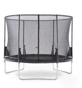 Plum - trampoline avec filet innovant 3g spacezone 305 cm - Trampolino Elastico