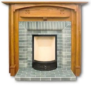 The Edwardian Fireplace -  - Camino Incassato