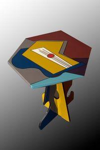 MAISON DARRE -  - Tavolino Rotondo