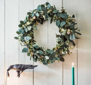 Graham & Green - faux eucalyptus - Corona Di Foglie